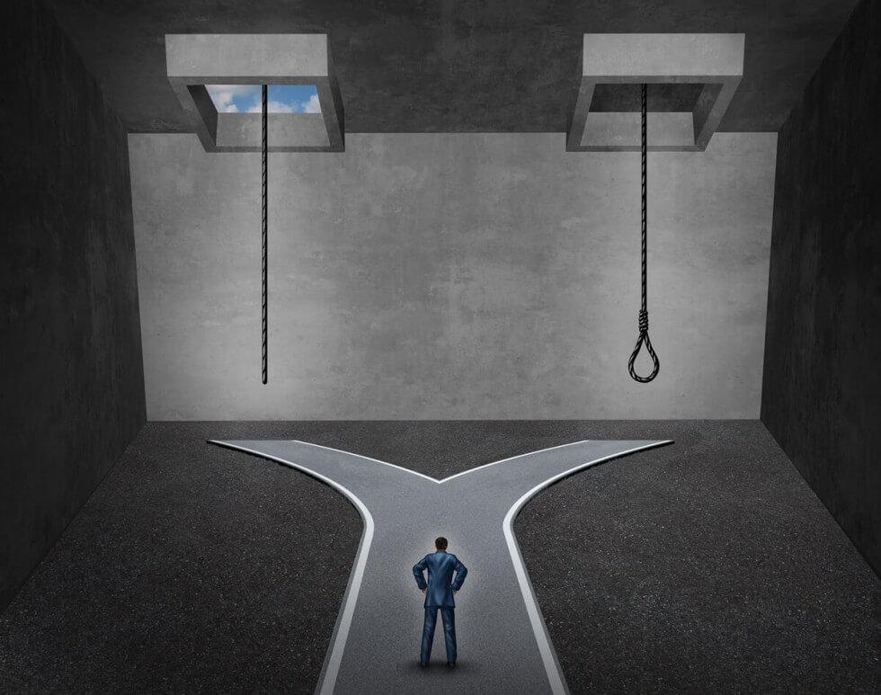 うつ病の自殺